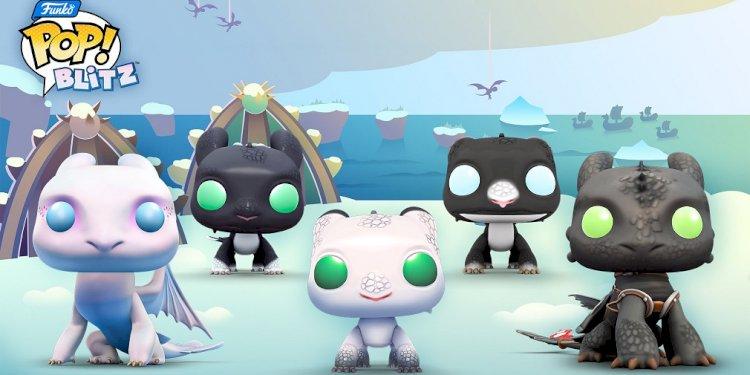 Funko Pop! Sự hợp tác mới nhất của Blitz mang đến các nhân vật trong How To Train Your Dragon
