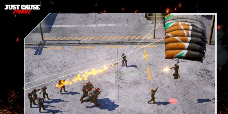 Just Cause: Mobile là một game bắn súng từ trên xuống sắp tới của Square Enix, hướng tới iOS và Android vào năm tới